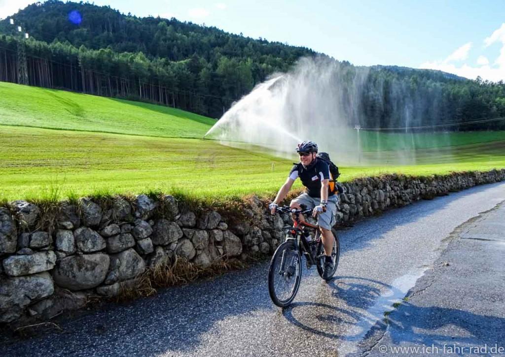 Wunderschön: Pustertalradweg und dann weiter nach Brixen