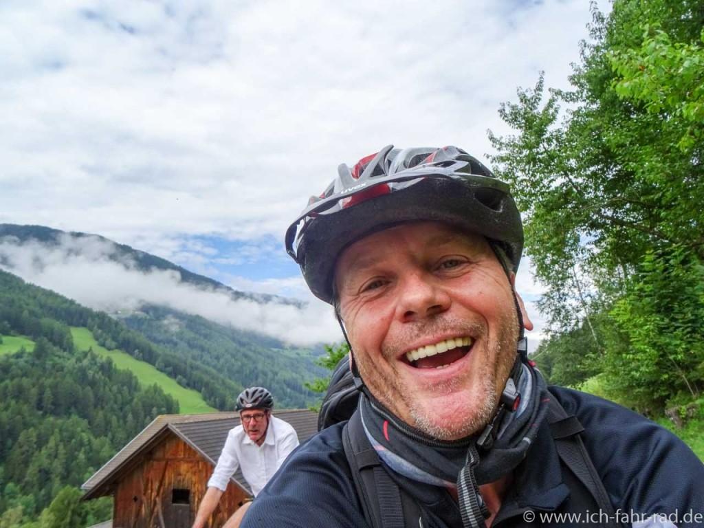 Udo Eling und Christian Spanik - unterwegs zum Furkelpass