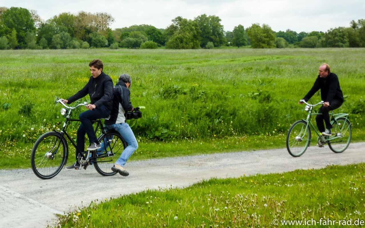 Ein Filmausschnitt: Unsere Doku zum Deutsch-Deutschen Radweg