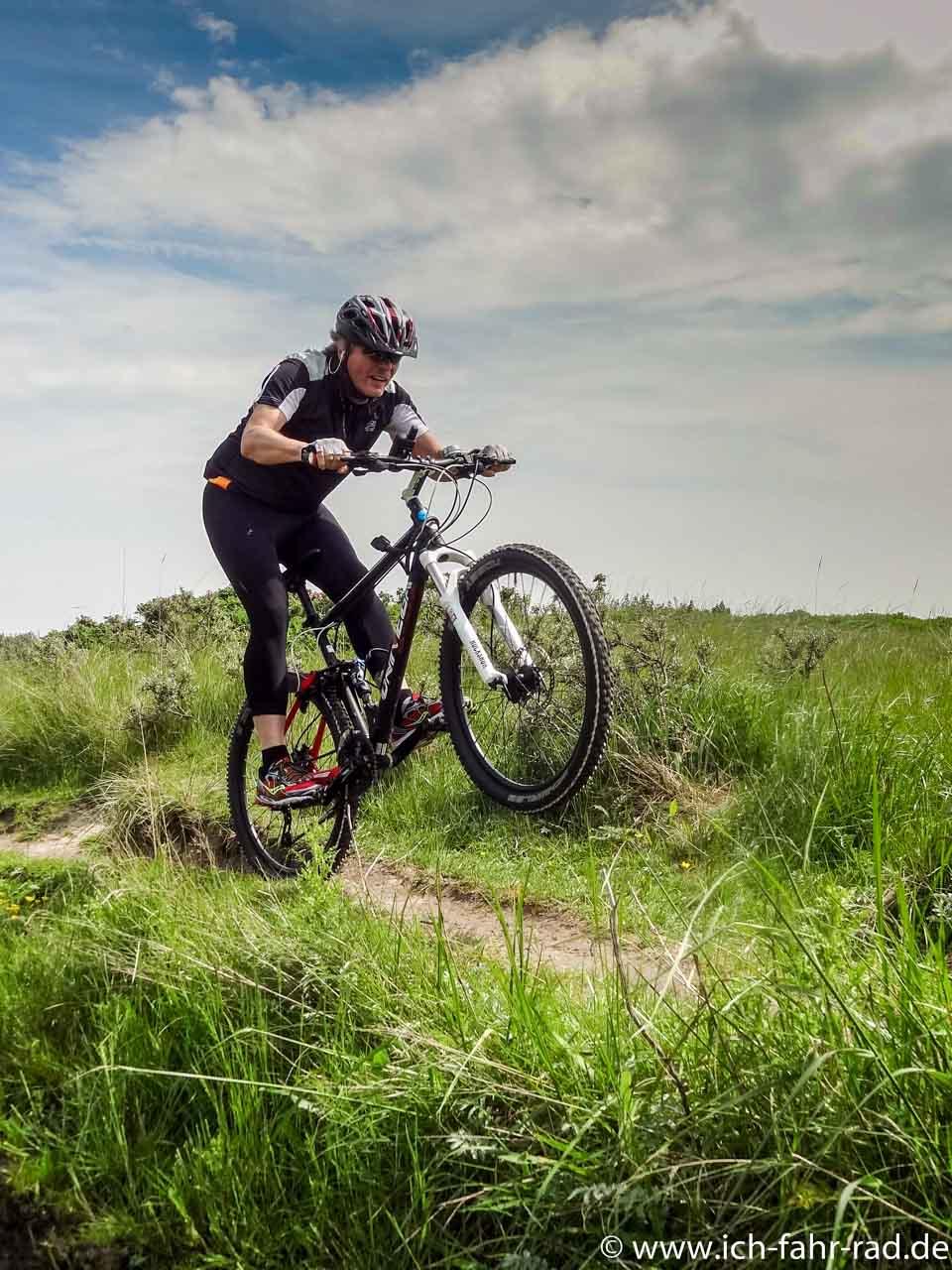 Kann man auf einer Insel ´ne schöne Radtour machen?