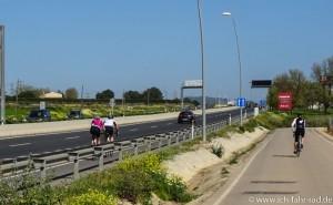 Radeln auf der Autobahn (1 von 1)
